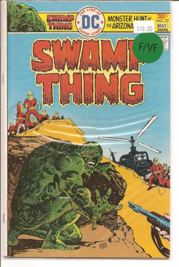 Swamp Thing # 22, 7.0 FN/VF