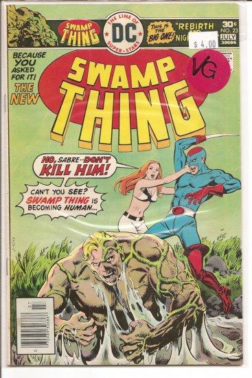 Swamp Thing # 23, 4.0 VG