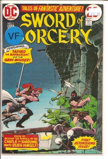 Sword of Sorcery # 1, 7.5 VF -