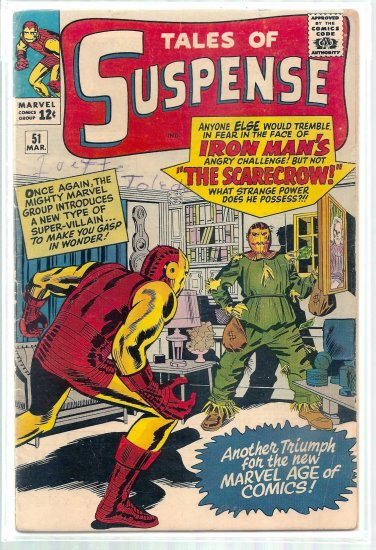 TALES OF SUSPENSE # 51, 4.5 VG +
