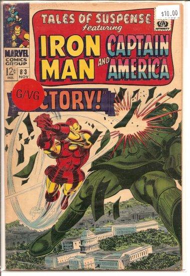 Tales of Suspense # 83, 3.0 GD/VG