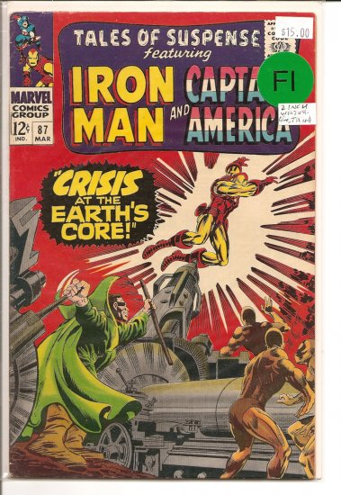 Tales of Suspense # 87, 6.0 FN