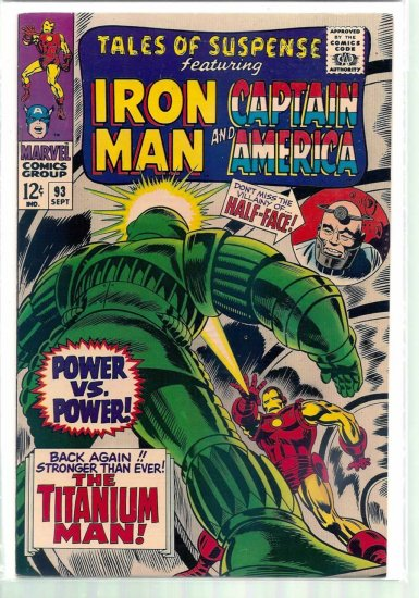 TALES OF SUSPENSE # 93, 9.4 NM