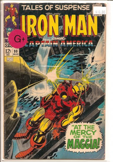 Tales of Suspense # 99, 2.5 GD +