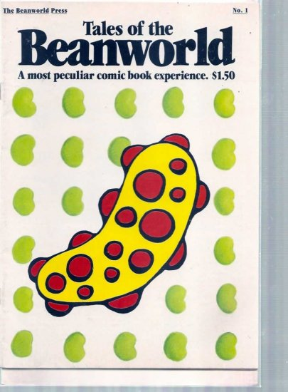 TALES OF THE BEANWORLD # 1, 5.0 VG/FN