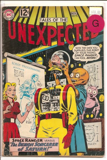 Tales of the Unexpected # 73, 2.0 GD