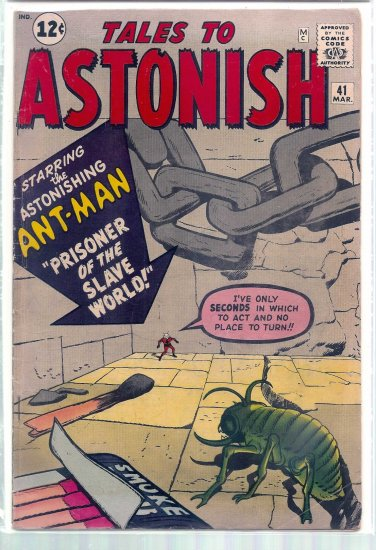 TALES TO ASTONISH # 41, 4.5 VG +
