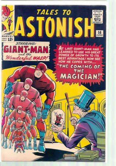 TALES TO ASTONISH # 56, 4.5 VG +