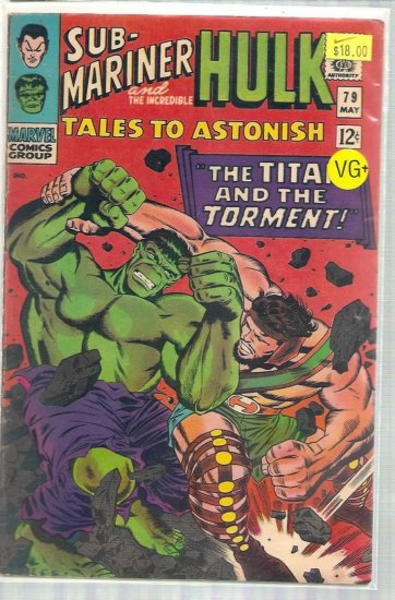 TALES TO ASTONISH # 79, 4.5 VG +