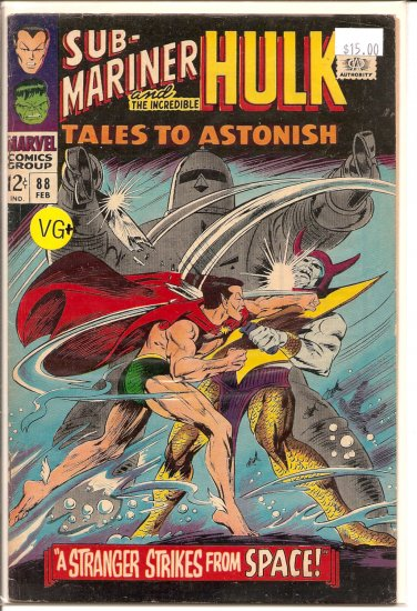 Tales to Astonish # 88, 4.5 VG +