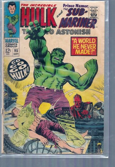 TALES TO ASTONISH # 95, 3.0 GD/VG