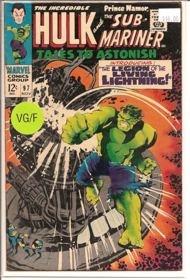 Tales to Astonish # 97, 5.0 VG/FN