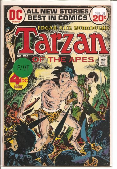 Tarzan # 210, 7.0 FN/VF