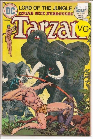 Tarzan # 229, 4.5 VG +