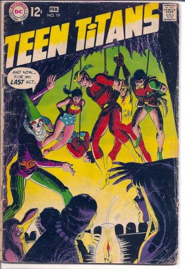 TEEN TITANS # 19, 2.0 GD