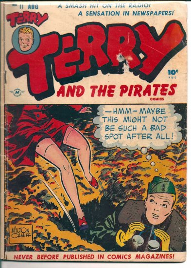 TERRY AND THE PIRATES # 11, 3.0 GD/VG