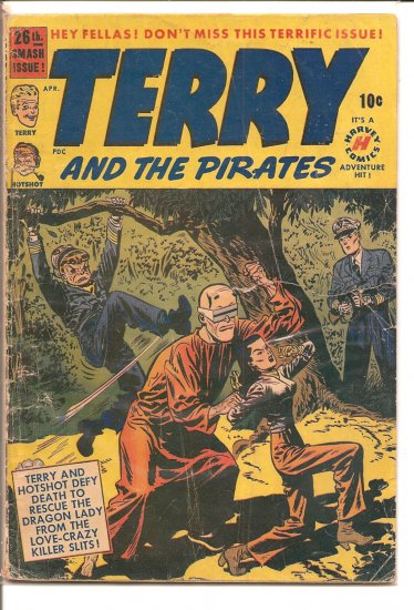 TERRY AND THE PIRATES # 26, 1.5 FR/GD