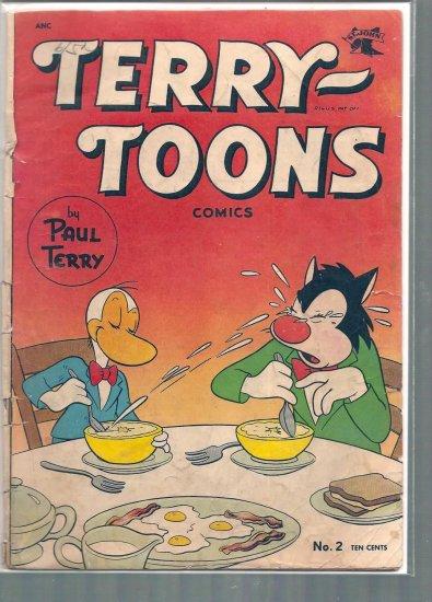 TERRY TOONS COMICS # 2, 2.0 GD