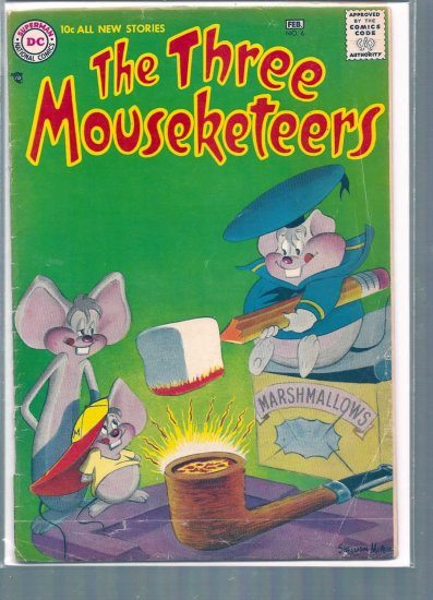 THE THREE MOUSEKETEERS # 6, 2.0 GD