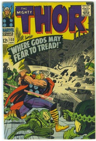 Thor # 132, 4.5 VG +