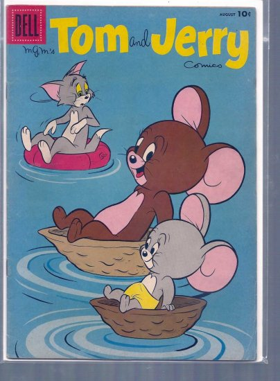 TOM AND JERRY # 169, 4.5 VG +