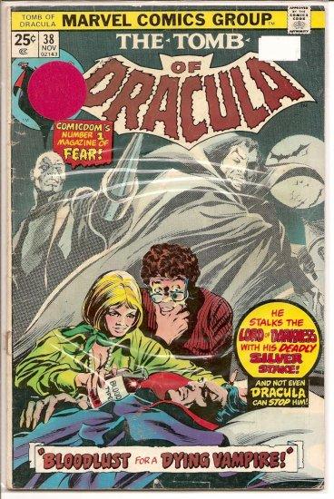 Tomb of Dracula # 38, 2.0 GD