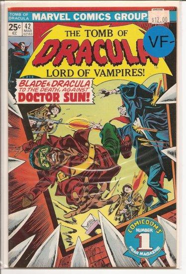 Tomb of Dracula # 42, 7.5 VF -