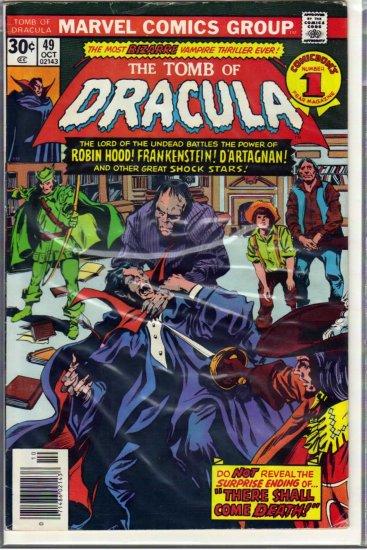 TOMB OF DRACULA # 49, 4.5 VG +