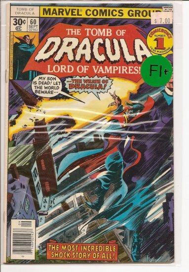 Tomb of Dracula # 60, 6.5 FN +
