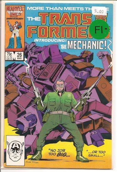 Transformers # 26, 6.5 FN +