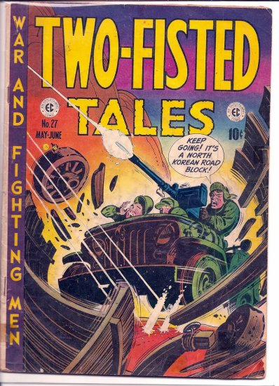TWO-FISTED TALES # 27, 2.5 GD +