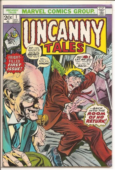 Uncanny Tales # 1, 7.0 FN/VF