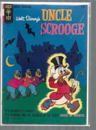 UNCLE SCROOGE # 63, 2.5 GD +