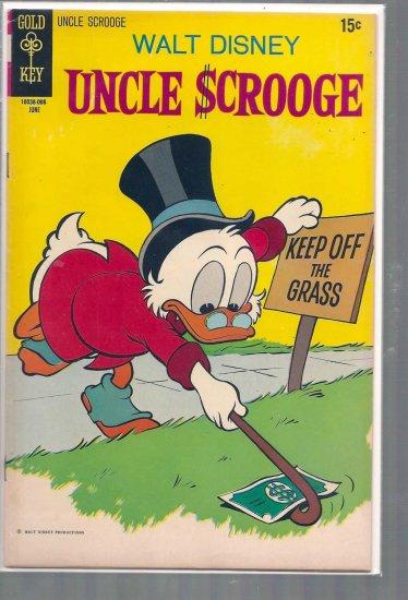 UNCLE SCROOGE # 87, 4.5 VG +