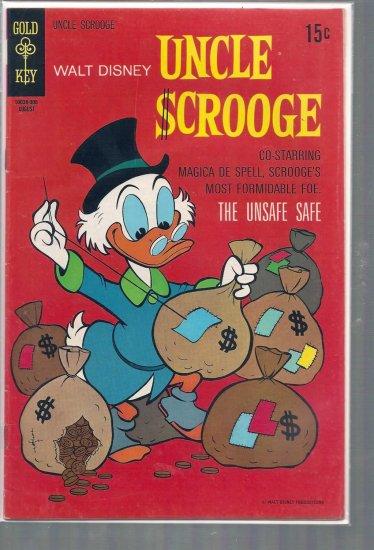 UNCLE SCROOGE # 88, 4.5 VG +