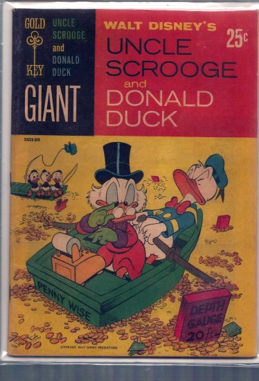 UNCLE SCROOGE AND DONALD DUCK # 1, 7.0 FN/VF