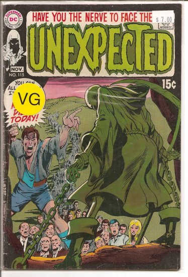 Unexpected # 115, 4.0 VG