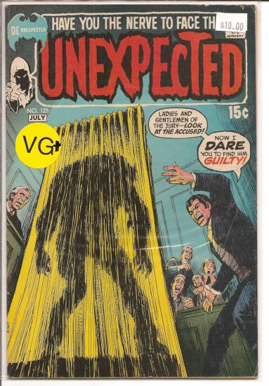 Unexpected # 125, 4.0 VG