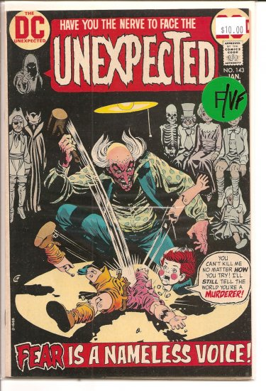 Unexpected # 143, 7.0 FN/VF