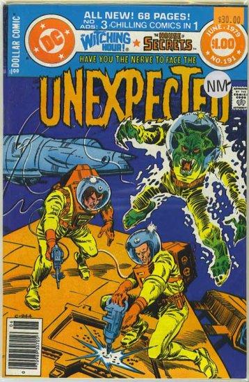 Unexpected # 191, 9.2 NM -