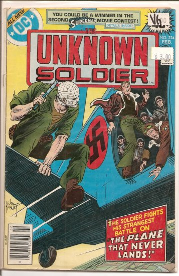 Unknown Soldier # 224, 4.0 VG