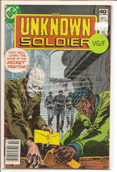 Unknown Soldier # 232, 5.0 VG/FN