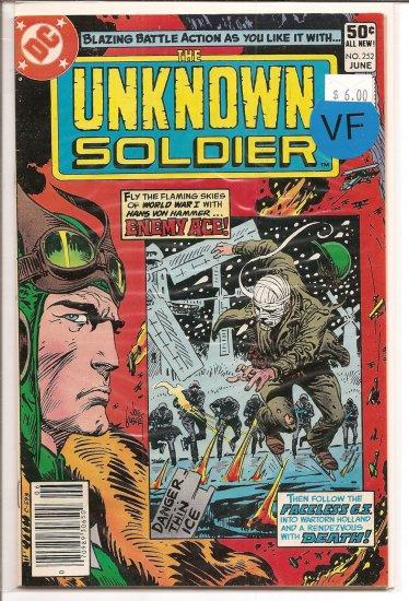 Unknown Soldier # 252, 8.0 VF