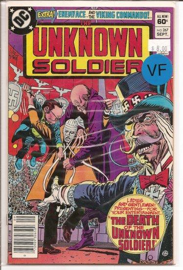 Unknown Soldier # 267, 8.0 VF