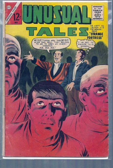 UNUSUAL TALES # 39, 3.5 VG -