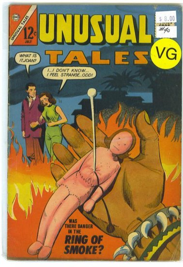 Unusual Tales # 40, 4.0 VG