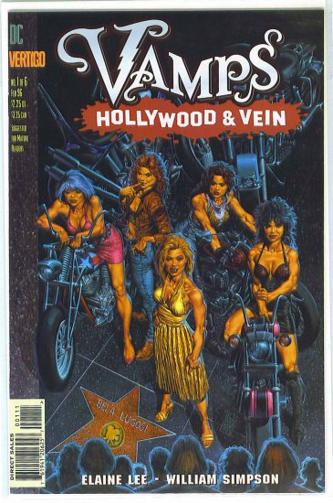 Vamps: Hollywood And Vein # 1, 6.0 FN