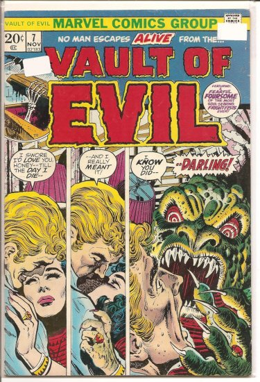 Vault of Evil # 7, 4.5 VG +