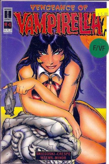 Vengeance of Vampirella # 4, 7.0 FN/VF