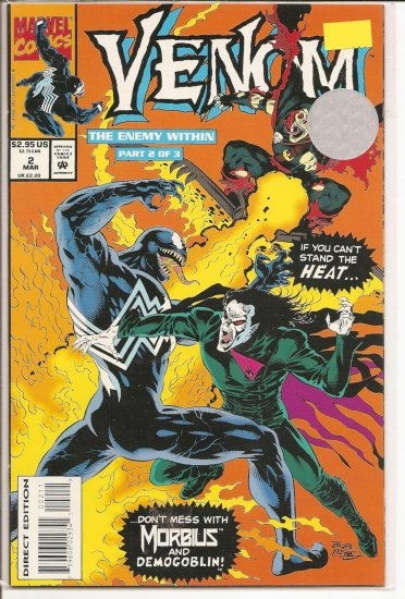 Venom The Enemy Within # 2, 9.4 NM